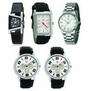 Pack of 5 Analog Watches For Unisex_G141