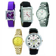 Pack of 5 Analog Watches For Unisex_G142