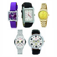 Pack of 5 Analog Watches For Unisex_G143