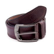 Porcupine Leather belt - Brown_GRJBELT10