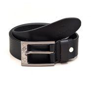 Porcupine Pure Leather Belt - Black_GRJBELT2-2
