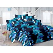 Valtellina 100% Cotton Double Bedsheet with 2 Pillow Cover-GVS-7004-E