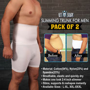 Get In Shape Slimming Trunk for Men - Pack of 2