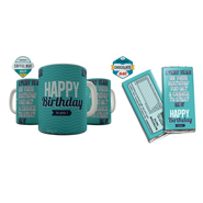 Shaildha Anniversary Special 350 Ml Coffee Mug With Chocolate Bar - 12391202