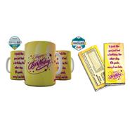 Shaildha Anniversary Special 350 Ml Coffee Mug With Chocolate Bar - 12391208