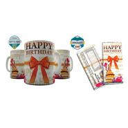 Shaildha Anniversary Special 350 Ml Coffee Mug With Chocolate Bar - 12391374