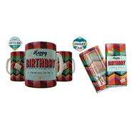 Shaildha Anniversary Special 350 Ml Coffee Mug With Chocolate Bar - 12391376