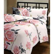 eCraftIndia Designer Printed Single Bed Reversible AC Blanket-HFBD112