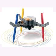 Educational 3 in 1 Doodling Robot Mechanics - Multicolor