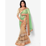 Indian Women Georgette Printed Saree -HT71009