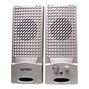 Intex IT-320 2.0 Multimedia Speaker (Silver)