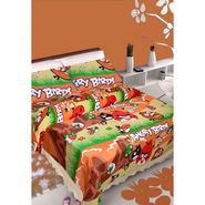IWS Kids Cotton Printed Double Bedsheet with 2 Pillow cover IWS-CB-24