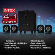 Intex 4.1 Home Theatre