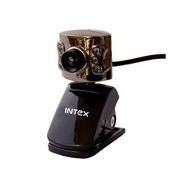 Intex IT-305WC Night Vision 600k Webcam - Black