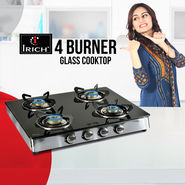 Irich 4 Burner Glass Cooktop