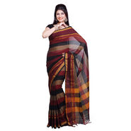 Ishin Cotton Saree - Multicolor-SNGM-838