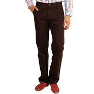 Cotton Regular Fit Chinos_J102 - Coffee