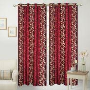 JBG Home Store Set of 2 Beautiful Design Door Curtains-JBG937_1MELD