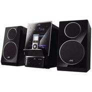 JVC UX-LP5 Slant Design Micro Hi-Fi System (Flip iPod Dock:AM/FM Tuner:USB Host:Turbo Sound)