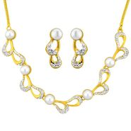 Jpearls Sizzling Pearl Necklace Set - NE4048