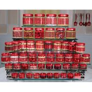Princeware Julia 50 Pcs Combo Set-Red_9473-RD
