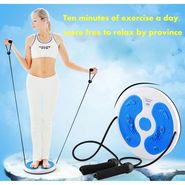 Kawachi Twisting Disc Massage Body Exercise with Rope-Blue