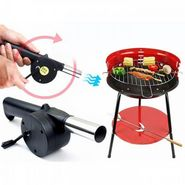 Branded Outdoor Cooking BBQ Fan Air Blower For Barbecue Fire Bellows Hand Crank