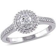 Kiara Swarovski Signity Sterling Silver Archana Ring_Kir0771 - Silver