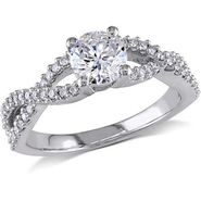 Kiara Swarovski Signity Sterling Silver Chetna Ring_Kir0798 - Silver