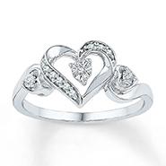 Kiara Swarovski Zirconia Sterling Silver Ring - KIR0296