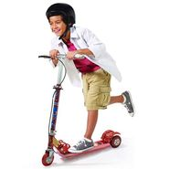 Kids 3 Wheel Foldable Mini Scooter - Adjustable Height, Bell & Brake