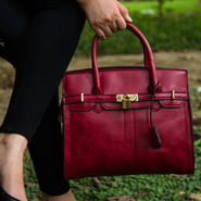 Arisha Maroon Handbag -LB 375
