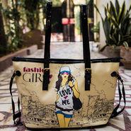Arisha Cream Handbag -LB 405