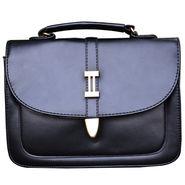 Sai Arisha PU Black Handbag -LB647