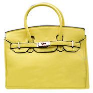 Sai Arisha PU Yellow Kelly handbags-LB692