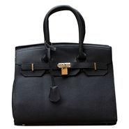 Sai Arisha PU Black Kelly handbags-LB718