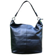 Sai Arisha PU Black Hobo handbags-LB743