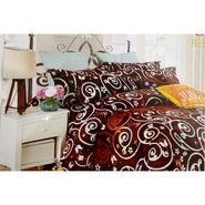 Velvet Double Bedsheet With 2 Pillow Cover-LE-VELV-001