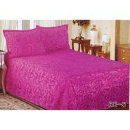 Velvet Double Bedsheet With 2 Pillow Cover-LE-VELV-007