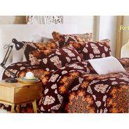Velvet Double Bedsheet With 2 Pillow Cover-LE-VELV-014