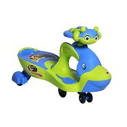 Kids Whale Swing Car Green