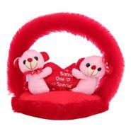 CloudieCouple OnHeart Valentine Stuff Teddy - Pink