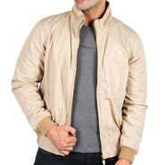 Lee Full Sleeves Cotton Jacket_Lee05 - Beige