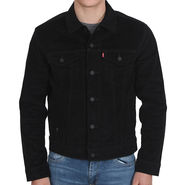 Levis Plain Full Sleeve Jacket_Lsbfs - Black