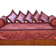 Little India 8 Piece Diwan Set  - Multicolor- DLI3DWS307