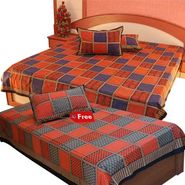 Little India Double Bedsheet Set- DL3COMB148