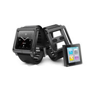 Gadget Hero Lunatik Multi-Touch Wrist Strap Aluminum Case For Ipod Nano 6th Gen - Black