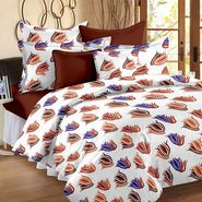 Storyathome 100% Cotton Double Bedsheet With 2 Pillow Cover-MG1447