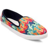 Meriggiare Canvas Multicolor Casual Shoes -Mgfb1006K