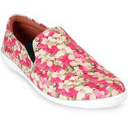 Meriggiare Pu Red Casual Shoes -Mgfb1031J